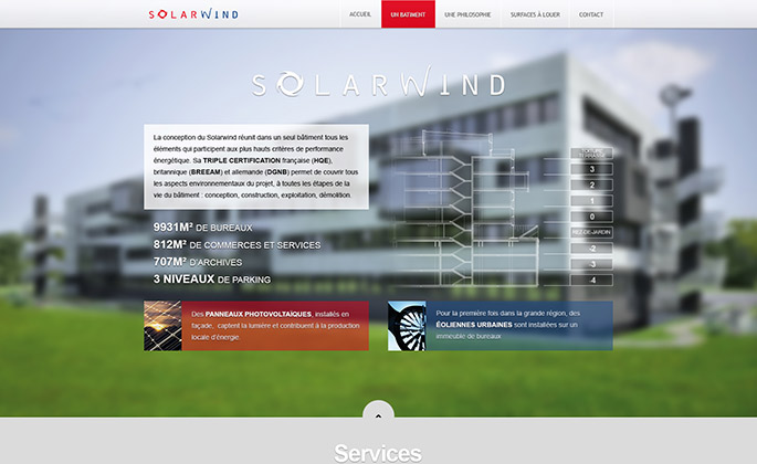 Solarwind website